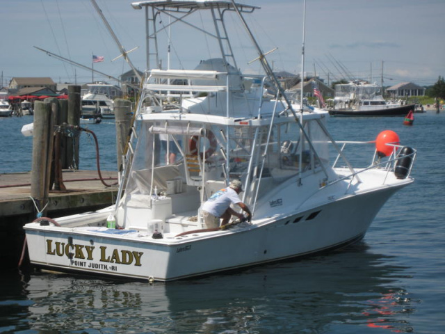 Lucky Lady II - Charter boat out of Pt Judith.