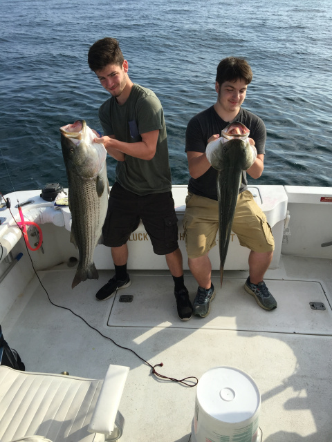 Double Trophy Striped Bass - RI